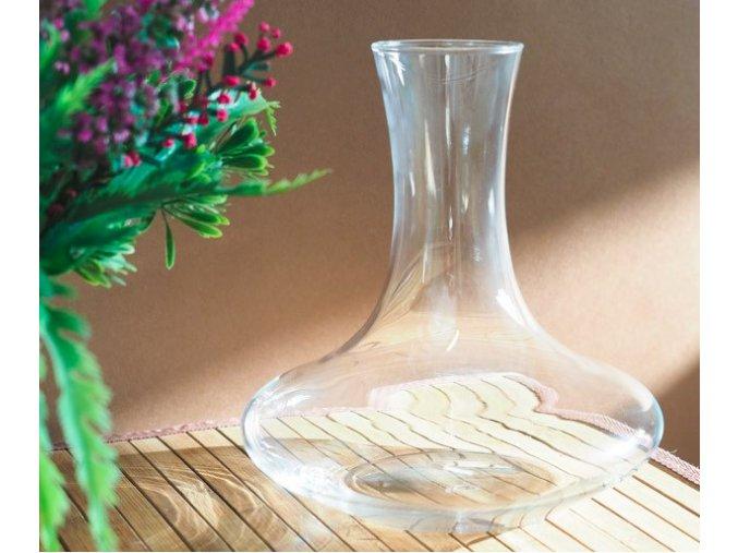 Karafa sklo 1300ml  KROSNO, ruční výroba