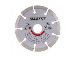 Kotouč diamant řezný ¤115x22,2mm segment  DIAMANT