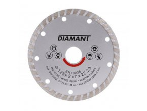 Kotouč diamant řezný ¤125x22,2mm TURBO  DIAMANT