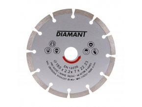 Kotouč diamant řezný ¤150x22,2mm segment  DIAMANT