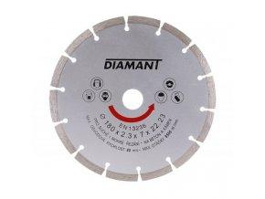 Kotouč diamant řezný ¤180x22,2mm segment  DIAMANT