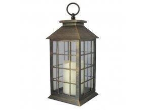 Lampa LED 30cm 3xAAA  WIN plast měděná