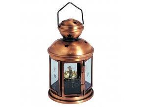 Lampa petrolejová 21cm  NIGHTSTAR Cu