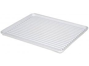 Odkapávač nádobí 40x50cm PLATO GR bílý  CZ