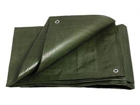 Plachta zakrývací 10x15m 200g PROFI zelená