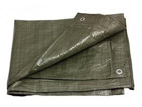 Plachta zakrývací 3x4m 70g STANDARD zelená