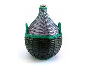 Demižon skleněný opletený 25L