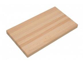 Prkénko na maso dřevo 30x40x2cm  CZ