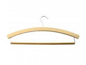 Ramínko dřevo pánské,L háček,voskované 42cm  CZ