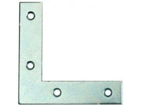 Rohovník nábytkový 60x60x17mm 6děr Zn (odběr bal.10ks)