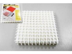 Rohož sestavovací 4ks 25x25cm  CZ bílá