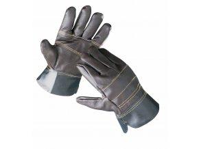 Rukavice pracovní kožené FRANCOLIN  XL (10)