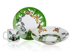 Dětská jídelní sada 3 díly BANQUET Džungle