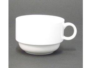 Šálek 180ml porcelán stohovací TONDA