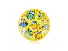 Talíř dětský keramika 20cm mělký OWLS