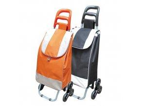 Taška na kolečkách  ALFRED 35L, 6 koleček, oranžová