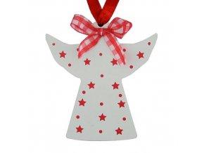 Vánoční ozdoba anděl X0031D 5ks  MAGICHOME