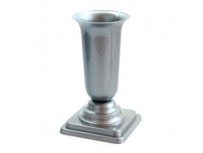 Váza hřbitovní PH zátěžová 27cm šedá nová