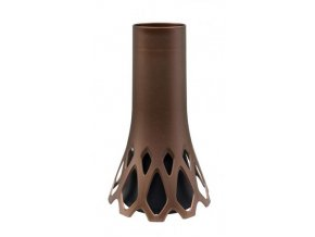 Váza hřbitovní ROSETA 34,5cm zátěžová Bronz