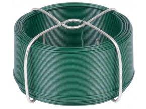 Drát vázací 1,4mm/50m PVC zelený  GREENYARD