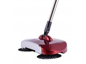 Zametač mechanický podlahový SANDY EF1 červený