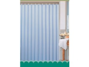 Závěs koupelnový 180x180cm PES světle modrá