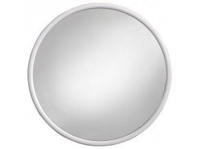 Zrcadlo kulaté ¤40cm  KUBA bílé