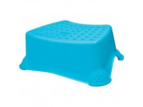 Stolička taburet 41x29x14cm protiskluzová 80kg  KEEEPER modrá