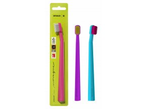 Zubní kartáček SPOKAR X SUPERSOFT, mix barev