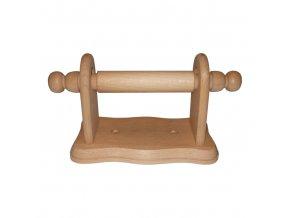 Držák WC papíru dřevo 22x12x9cm  WOOD, mix odstínů