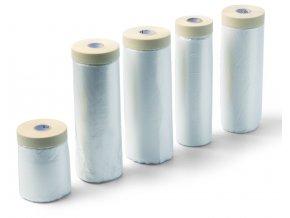 Fólie zakrývací 1,4x33m s papírovou lepící páskou SCHULLER