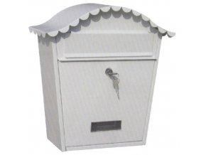 Schránka poštovní kov/lak NAPOLEON hnědá  STREND