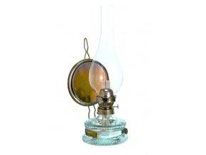 """Lampa petrolejová zrcadlová 8"""" s cylindrem CZ"""