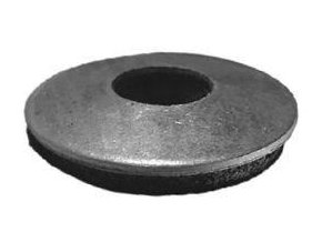 Podložka s gumou na krytinu ¤6/25mm Zb