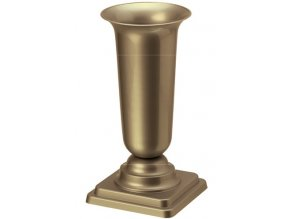 Váza hřbitovní PH zátěžová 27cm zlatá nová
