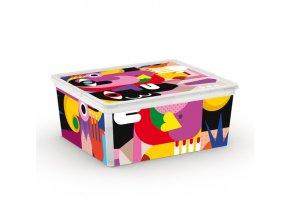 Box úložný C BOX ARTISTS 40x34x17cm 18L