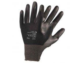 Rukavice pracovní nylon/PU BUNTING BLACK L(9)