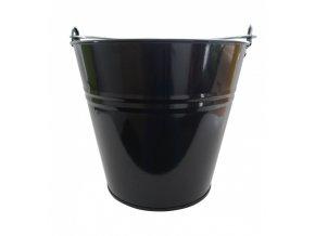 Vědro  5L Zn lakované černé