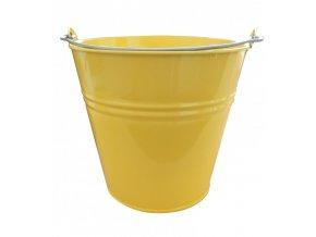 Vědro  5L Zn lakované žluté