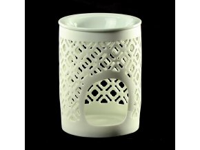 Lampa aroma porcelán 11,5cm  MŘÍŽKA