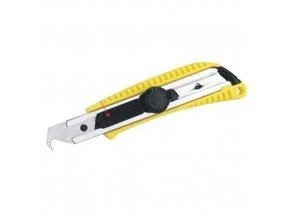 Nůž odlamovací 18mm KVK zahnutý STREND PRO UK225