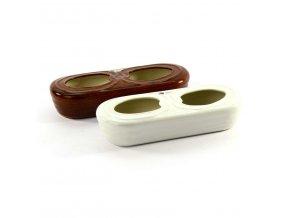 Odpařovač keramický na položení  CZ ruční výroba, mix barev
