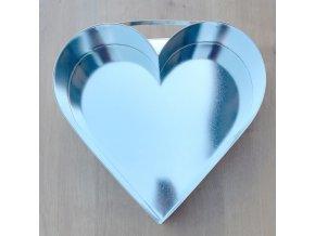 Forma dortová srdce velké 32x31cm  CZ