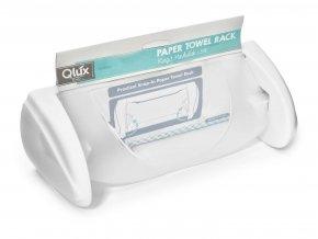 Držák papírových utěrek s klapkou PH  QLUX