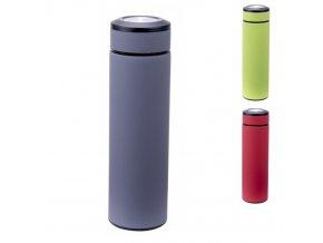 Termoska 480ml s čajovým sítkem  CULINARIO, mix barev