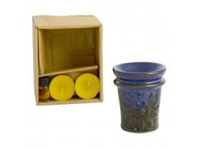 Lampa aroma keramika, olej, svíčka  SLUNCE
