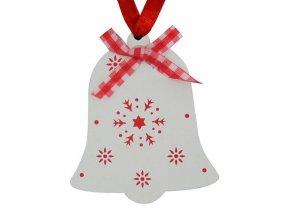 Vánoční ozdoba zvonek X0031F 5ks  MAGICHOME