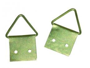 Háček obrazový triangl 28mm (odběr bal.10ks)