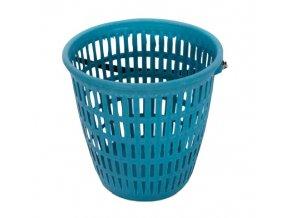 Koš kulatý zahradní plast ¤30x27cm 13L  GARDEN, mix barev