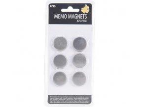 Magnetky ¤25x7mm 6ks